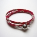 Bracelet liberty framboise